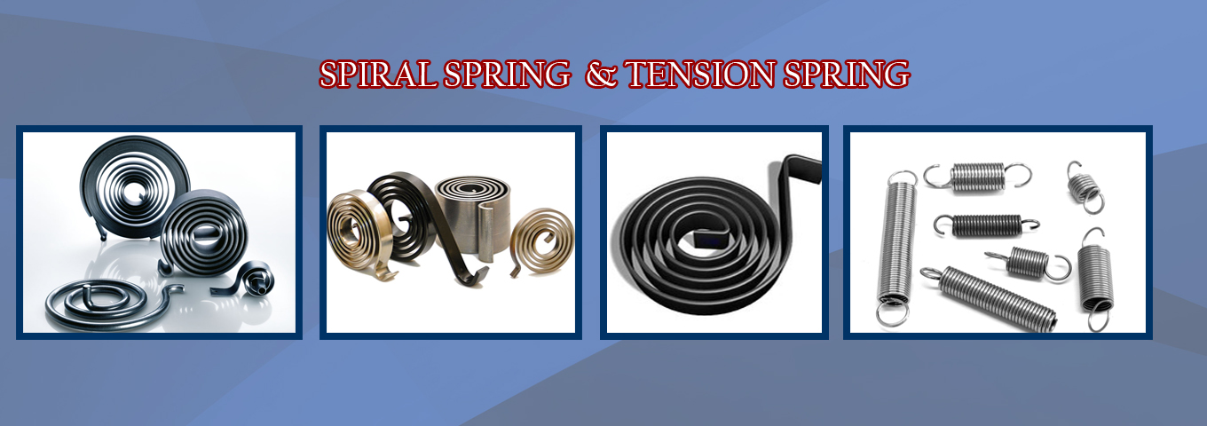 Spiral Spring manufacturers in India, Spiral Spring manufacturers