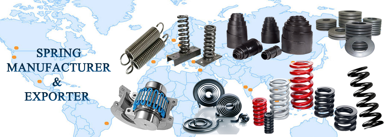 Compression Spring manufacturers in India, Compression Spring manufacturers